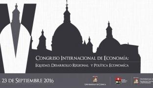 IV Congreso Internacional de Economía, organizado por la Universidad de Cuenca y la Escuela Politécnica Nacional