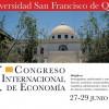 VI Congreso Internacional de Economía