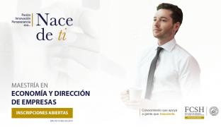 Maestría en Economía y Dirección de Empresas en la Escuela Superior Politécnica del Litoral (ESPOL)