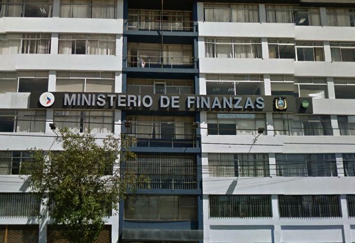 Ministerio de Finanzas, Fuente: GoogleMaps