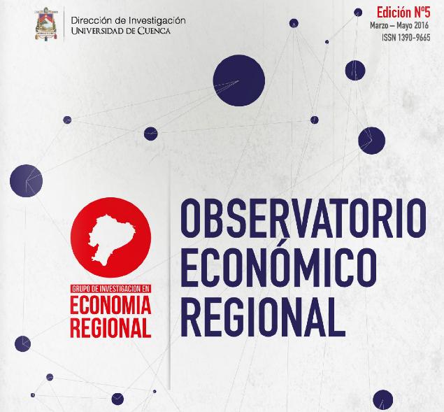 Observatorio Económico Regional, No. 5.