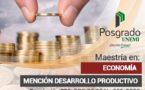 Maestría en Economía, Mención Desarrollo Productivo
